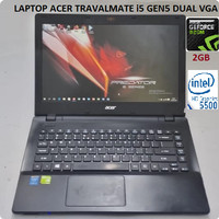 LAPTOP ACER CORE I5 VGA NVDIA GEFORCE 2GB RAM 8GB HDD 500GB