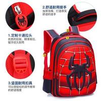 TAS RANSEL ANAK SEKOLAH ANEKA MOTIF SUPERHERO 3D ( TIMBUL ). - Spiderman