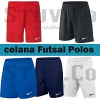 Celana Bola/ Futsal / Running Nike Hitam-Merah-Biru-Navy-Putih Polos