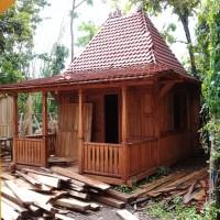 Rumah kayu Limasan Joglo gazebo