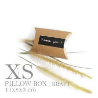 [PILLOW BOX EXTRA SMALL: 8x11x3 cm] dus / box / kemasan / paperbox