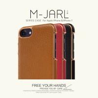 IPHONE 7 / 8 M-JARL LEATHER ELEGANT STAND ORIGINAL HARD CASE COVER PC