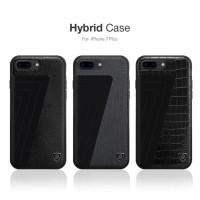 IPHONE 7 PLUS / 8 PLUS NILLKIN HYBRID NEW ORIGINAL LEATHER HARD CASE