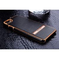 IPHONE SE 2020 M-JARL LEATHER ELEGANT STAND ORIGINAL HARD CASE COVER
