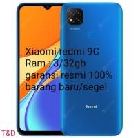 XIAOMI REDMI 9C RAM 3/32GB GARANSI RESMI