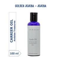 100 ml Golden Jojoba Carrier Oil 100% Murni Minyak Tumbuhan Jojoba