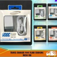 travel charger vivo vooc flash charging micro usb