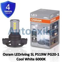 Osram LED riving SL PS19W PG20-1 White Putih 3301CW Lampu Mobil PSX24W