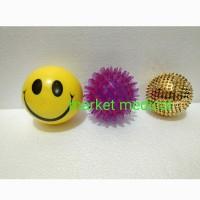 Paket Murah Bola Terapi/Latihan tangan Stroke bola smail, Duri, Karet