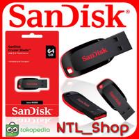 SANDISK FLASHDISK CZ50 64GB CRUZER BLADE