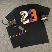 Nike Air Jordan Jumpman 23 Multicolor Black Hitam Tee T-Shirt Kaos - M