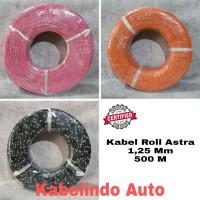 KABEL ROLL ASTRA / AUDIO / BODY / MOBIL 1.25MM Panjang 500M