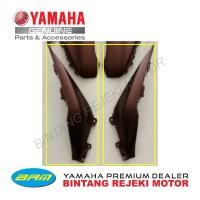 SET COVER, SIDE 3 & 4 - (KANAN & KIRI) BODY YAMAHA XMAX 250 COKLAT