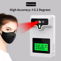 Infrared Thermometer Forhead termometer gun automatic wall dinding