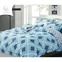 BedCover Set Katun Motif 160/180/200x200x40cm