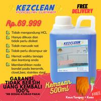 Pembersih keramik kamar mandi,almunium , besi dan kaca KEZCLEAN 500 ml