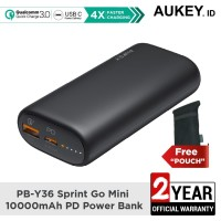 Aukey Powerbank PB-Y36 Sprint Go Mini 10000mAh Power Deliver - 500461