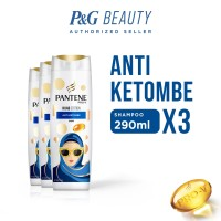 Value Pack Pantene Hijab Shampoo Edition Anti Ketombe 290 ml