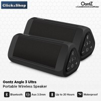 2 unit Oontz Angle 3 Ultra Portable Wireless Bluetooth Speaker