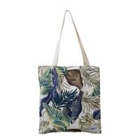 Tote bag / Tas kain Harvest Nature Floral Edition - Navy Blue