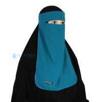 Niqab Bandana Alsyahra Woolpeach Premium