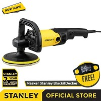 Stanley SP137 1300Watt 7Inch Angle Polisher / Mesin Poles Listrik