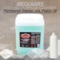 Meguiars D101 All Purpose Cleaner - 135ml Refill Bottle | Interior