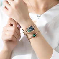 REBIRTH jam tangan wanita New style Tahan Air Kuarsa jam Gelang hadiah