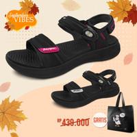 Sepatu Sandal Wanita Gold Pigeon UltraLite Elle G0755W - Merah Muda, 36
