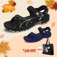 Gold Pigeon Sepatu Sandal Pria Outdoor Maximus G0796M - Biru, 39