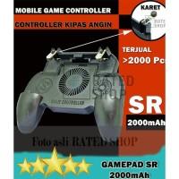 PUBG MOBILE CONTROLLER GAMEPAD Cooling Fan L1R1 Trigger + 2000mAh - SR