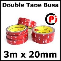 JETTING Lakban Selotip Double Tape 3M SC Merah 3m x 20mm