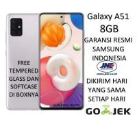 SAMSUNG GALAXY A51 8/128 (RAM 8GB/128GB) 2020 GARANSI RESMI SEGEL
