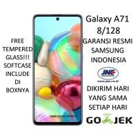 SAMSUNG GALAXY A71 8/128 (RAM 8GB/128GB) 2020 GARANSI RESMI SEGEL