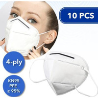 Masker KN95 isi 10 Pcs PM2.5 Earloop Non Medis filter 95% setara n95
