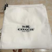 Coach DustBag serut | Sarung tas | Cover | dust bag | db branded - M