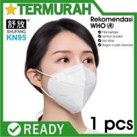 MASKER N95 KN95 ANTI VIRUS 5 PLY ada sertifikat surgical KN N 95 mask