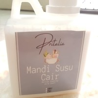 PRITALIA MANDI SUSU CAIR MELLOW FOAMING MILK BATH 500 ML