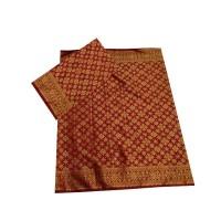 Kain Songket Palembang Marun Set
