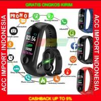 Original Smart Watch M3 Plus Jam Smartband SmartWatch Xiaomi Mi Band 3