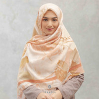 Hijab Segi Empat Syari Tencel Seradia - Aksamala - Vermillion
