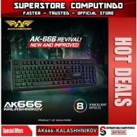 Armaggeddon AK666 Kalashnikov Spill Proof Backlit Gaming Keyboard
