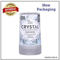 Crystal Mineral Deodorant Stick Unscented 4.25oz natural utk keluarga