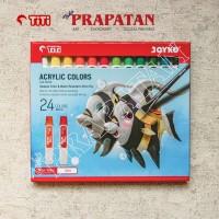 Acrylic Color / Cat Akrilik Titi 24 warna