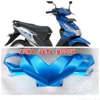 Batok Pala Depan Honda Beat Karbu Lama Warna biru muda 2012