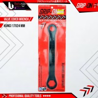 Grip ON Kunci Tutup Klep 17 24 MM Valve Cover Wrench Motor 17x24 MM