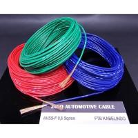 Automotive Cable Kabel Otomotif AVSS 0.85 mm AVSS 0,85 mm 20M - Hitam