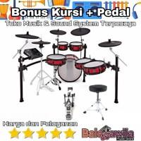 Drum Elektrik Alesis Strike Pro Special Editon Bonus Kursi + Pedal Ori