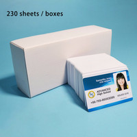 idcard maker printer id card ukuran id card inkjet PVC Murah 376pcs