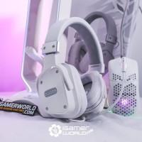 Sades Snowwolf Headset Gaming